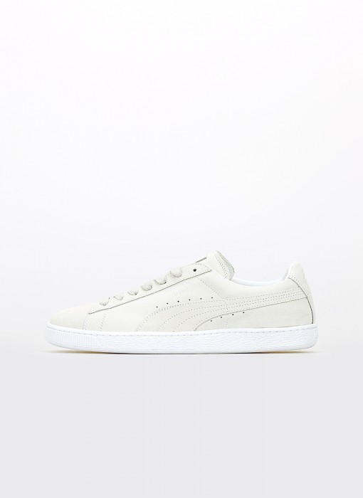 Suede Classic White Made in Italy