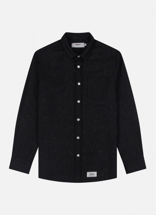 Wemoto Oliver Shirt Black 121.304-100