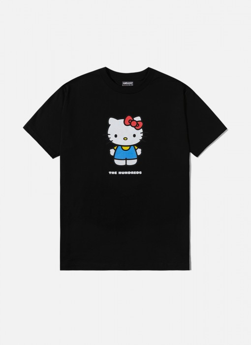 x Sanrio Hello Kitty T-Shirt (Black)
